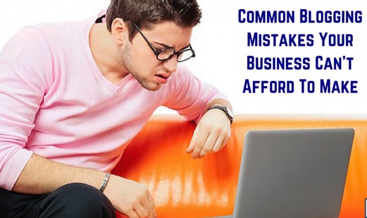 Common Mistakes of Blogging